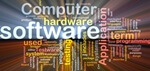 Computer software word cloud