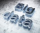 Stock photo of big data with numbers in the background